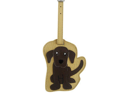 Chocolate Lab Luggage Tag