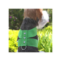 Susan Lanci Crystal Paw Ultrasuede Harnesses