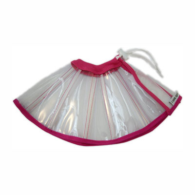 Clear Flamingo E-Collar