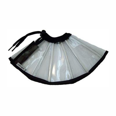 Clear Black E-Collar