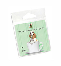 Basset Hound Holiday Gift Tags
