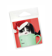 Cat Holiday Gift Tags