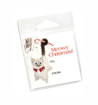 Kitten Holiday Gift Tags