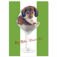 Wienertini Birthday Card