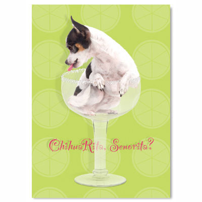 ChihuaRita Birthday Card