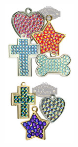 Swarovski Crystal Pet ID Tags