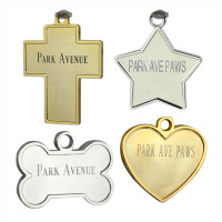 24k Gold & Pure Silver Pet ID Tags