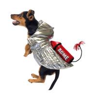 Space Rocket Dog Costume