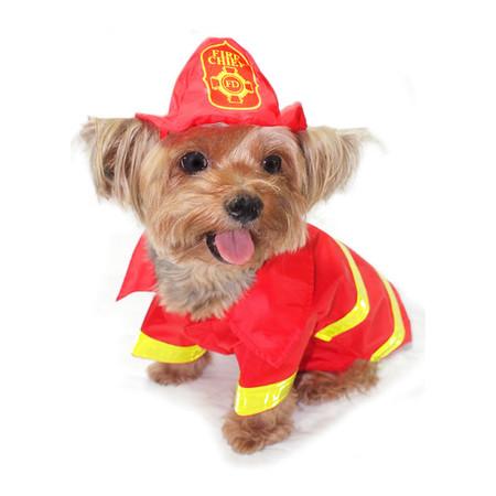 Fireman Dog Costume