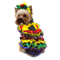 Calypso Queen Dog Costume