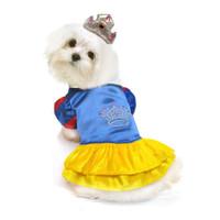 Snow Princess Dog Costume