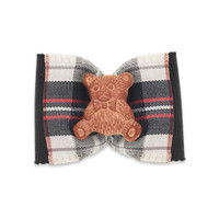 Cece Kent Teddy Dog Bow