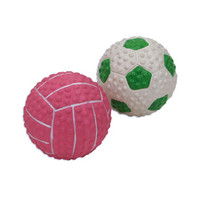 Tiny Rubber Squeaker Balls