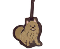 Dog Luggage Tag (Pomeranian)