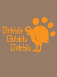 Gobble Gobble Dog Tank