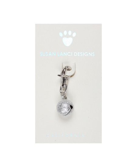 Susan Lanci Silver Sand Collar Bell