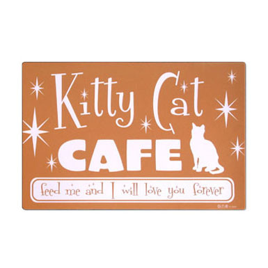 Kitty Cat Cafe Placemat