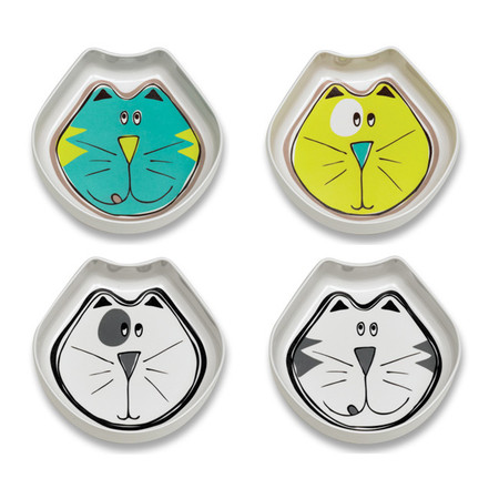Comic Kitty Bowl Set