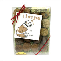 Choose Your Words, I Love You Boxed Dog Treats