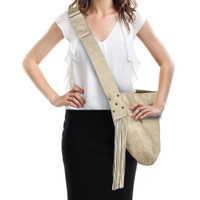 Susan Lanci Fringe Cuddle Carrier