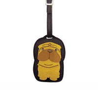 Dog Luggage Tag (Sharpei)