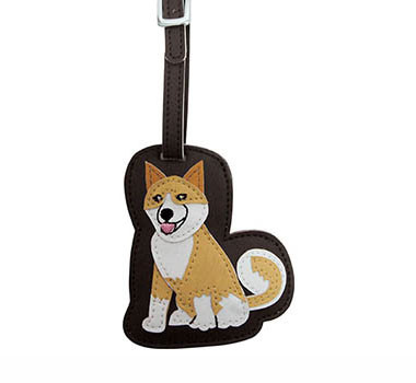 Dog Luggage Tag (Akita)