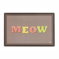 Cross Stitch Meow Cat Placemat