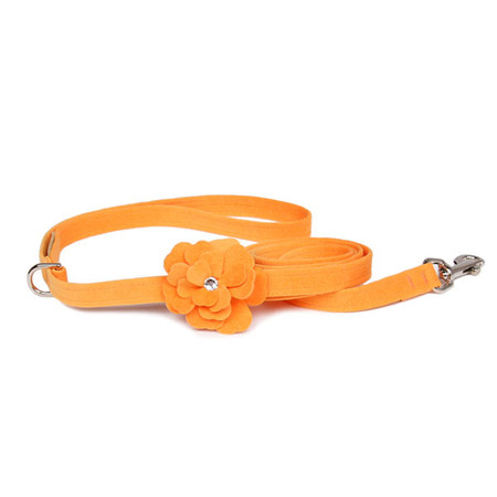 Susan Lanci Tinkie's Garden Ultrasuede Leashes