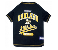 Oakland Athletics Dog T-Shirt