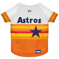 Houston Astros Throwback Dog Jersey