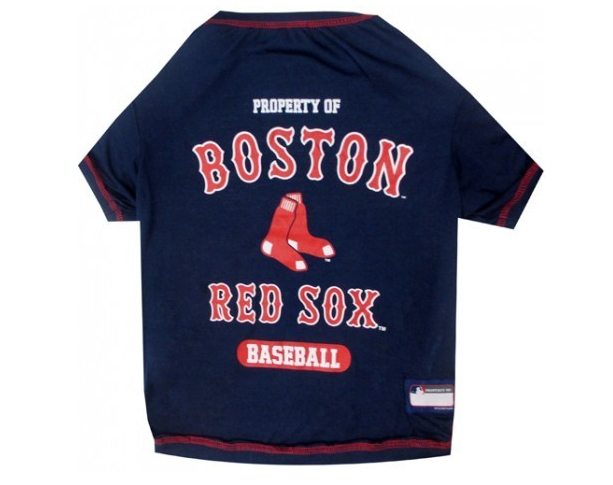 huge discount bc1f5 eb8f1 Boston Red Sox Dog T-Shirt