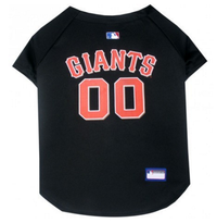 San Francisco Giants V-Neck Dog Jersey
