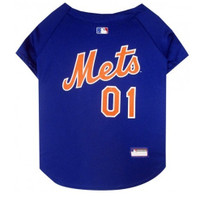 New York Mets V-Neck Dog Jersey