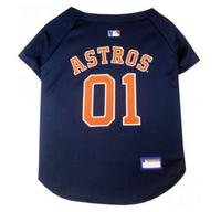 Houston Astros V-Neck Dog Jersey