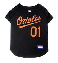 Baltimore Orioles Dog Jersey