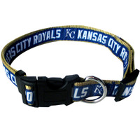 Kansas City Royals Ribbon Dog Collar