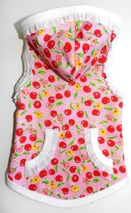Cherry Ruffle Hoodie
