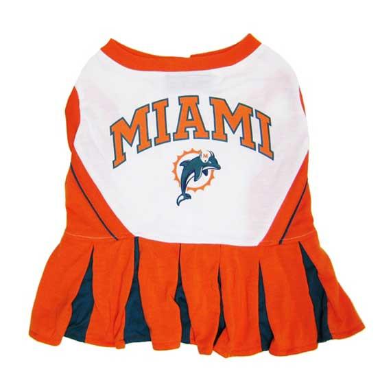 the best attitude fa9e3 c164c Miami Dolphins Cheerleader Dog Dress