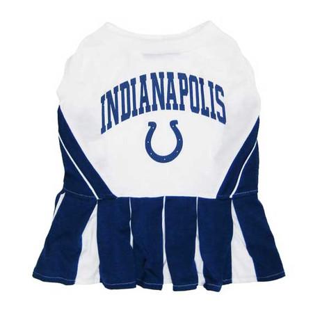 Indianapolis Colts Cheerleader Dog Dress