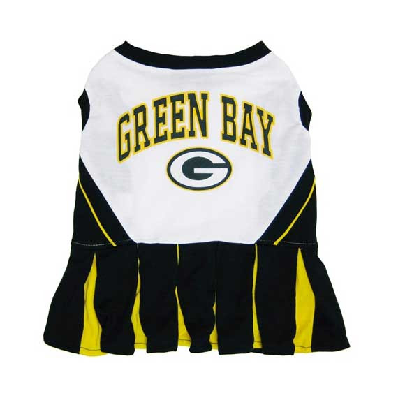 check out 8af2a 216f6 Green Bay Packers Cheerleader Dog Dress