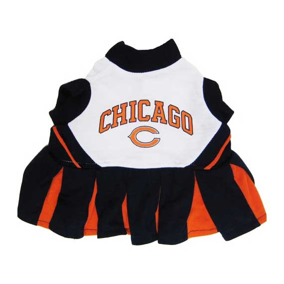 new style 3cdeb 2a07c Chicago Bears Cheerleader Dog Dress
