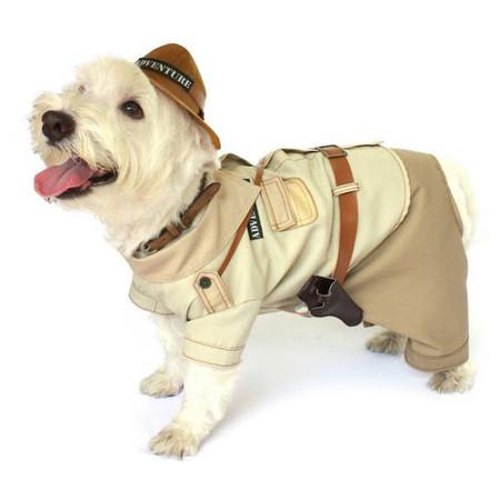 Indiana Bones Dog Costume