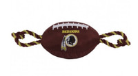 Washington Redskins Nylon Football Dog Toy