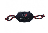 Houston Texans Nylon Football Dog Toy