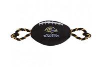 Baltimore Ravens Nylon Football Dog Toy