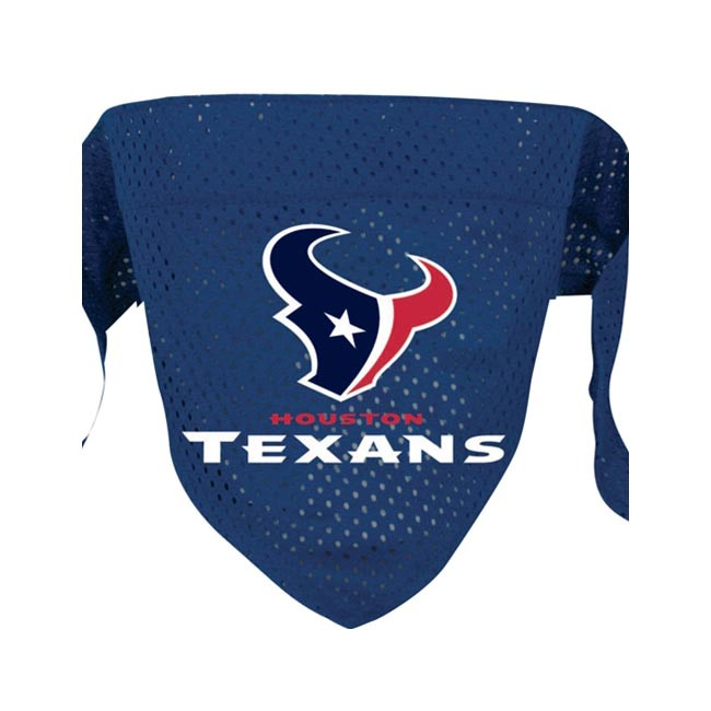 0399349b2 Houston Texans Mesh Dog Bandana