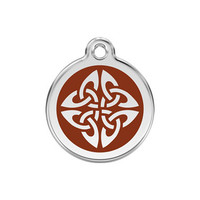 Tribal Arrows Stainless Steel Enamel ID Tag