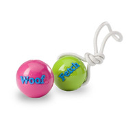 Planet Dog Orbee-Tuff Woof & Fetch Balls with Rope
