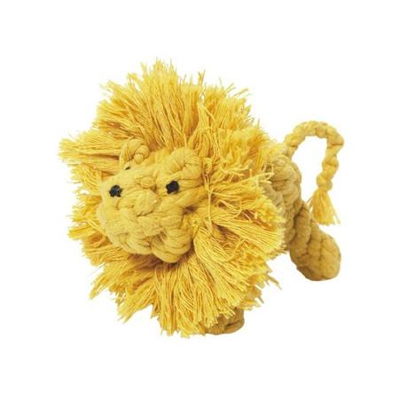 Larry Lion Rope Dog Toy