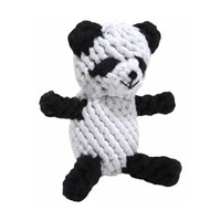 Petey Panda Rope Dog Toy